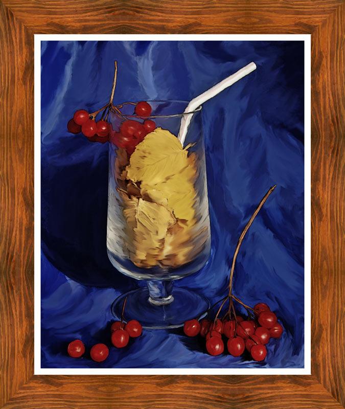 "фото ""Осенний напиток"" метки: натюрморт,"
