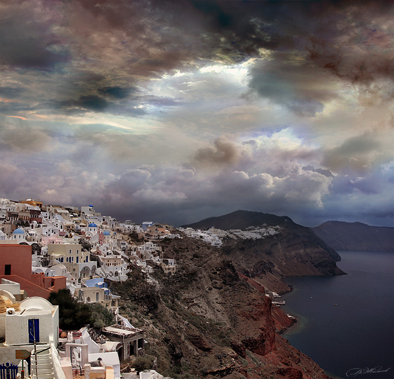 "фото ""Sky town"" метки: пейзаж, горы, облака"