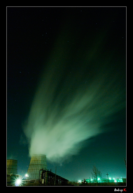"photo ""Star winter ..."" tags: architecture, city, landscape,"