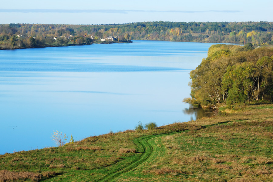 "photo ""Daugava river"" tags: landscape, autumn, water"