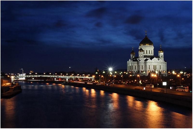 """фото """"Гуляя по ночной Москве"""" метки: архитектура, город, пейзаж,"""