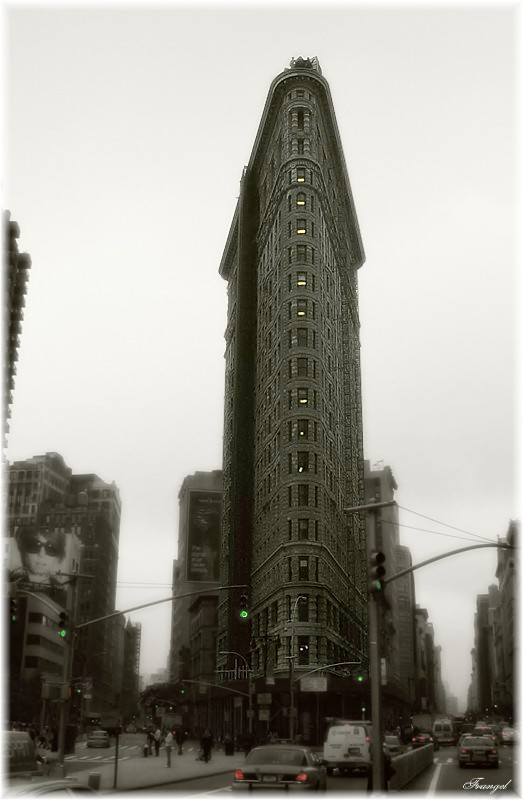 "photo ""Flatiron Building"" tags: travel, architecture, landscape, North America"