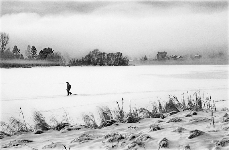 "фото ""Путник"" метки: черно-белые, жанр,"