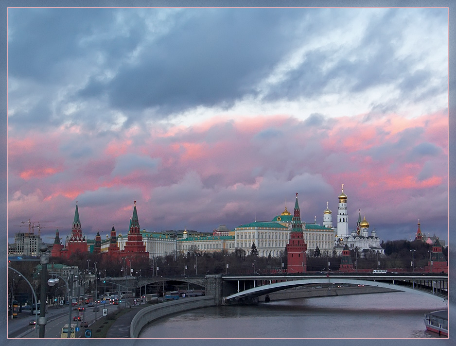 "photo ""Ten Towers of Kremlin."" tags: architecture, city, landscape,"