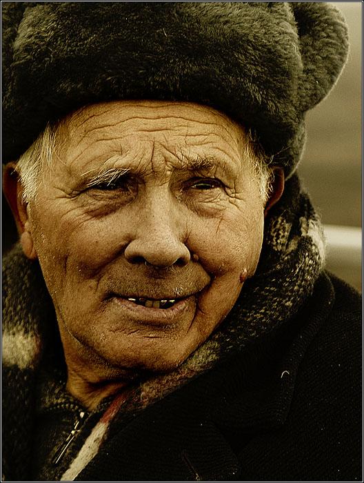 "фото ""Дедуля"" метки: портрет, мужчина"