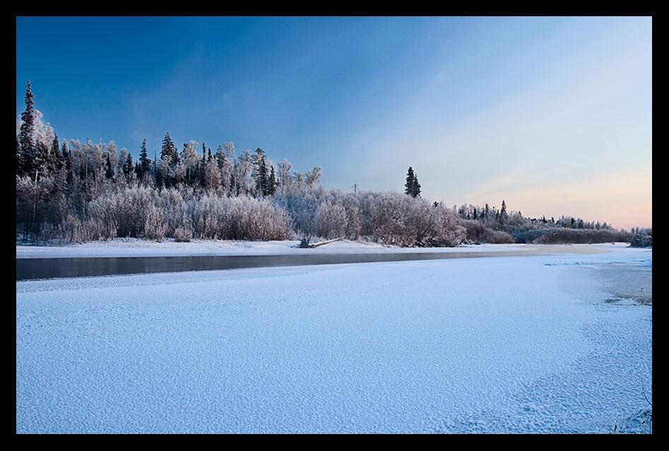 """фото """"Краски севера."""" метки: пейзаж, зима"""