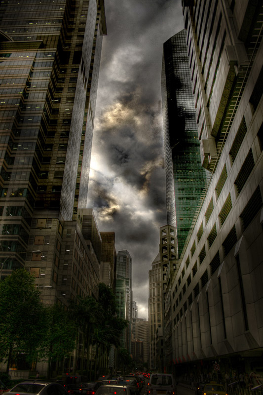 "photo ""Ladder 49"" tags: genre, landscape, clouds"