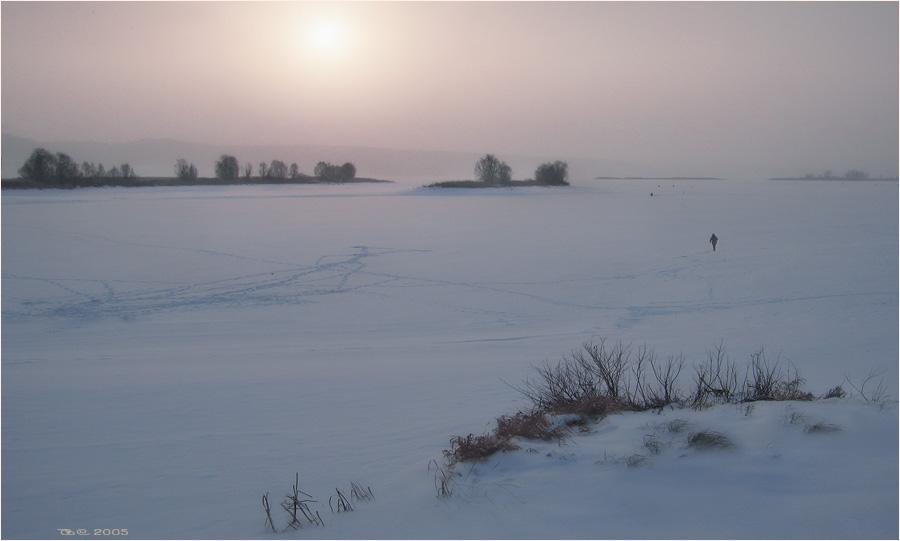 "photo ""Winter light"" tags: landscape,"