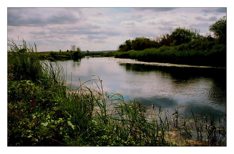 "photo ""Or River. Looking steppe."" tags: landscape, summer, water"