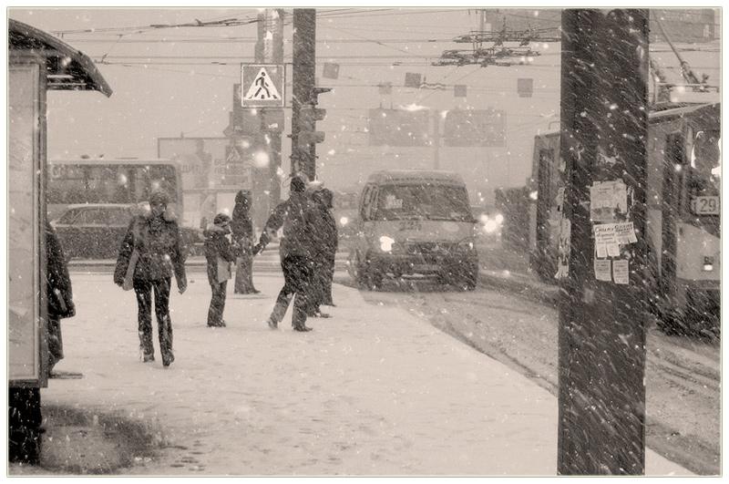 """фото """"В Петербурге ожидается снегопад"""" метки: жанр, город,"""