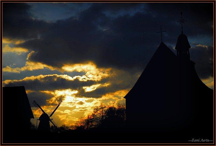 "фото ""late evening"" метки: архитектура, пейзаж, закат"