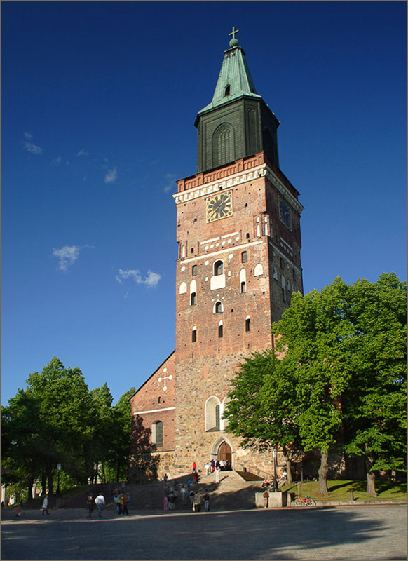 "photo ""In Turku Cathedral"" tags: architecture, travel, landscape, Europe"