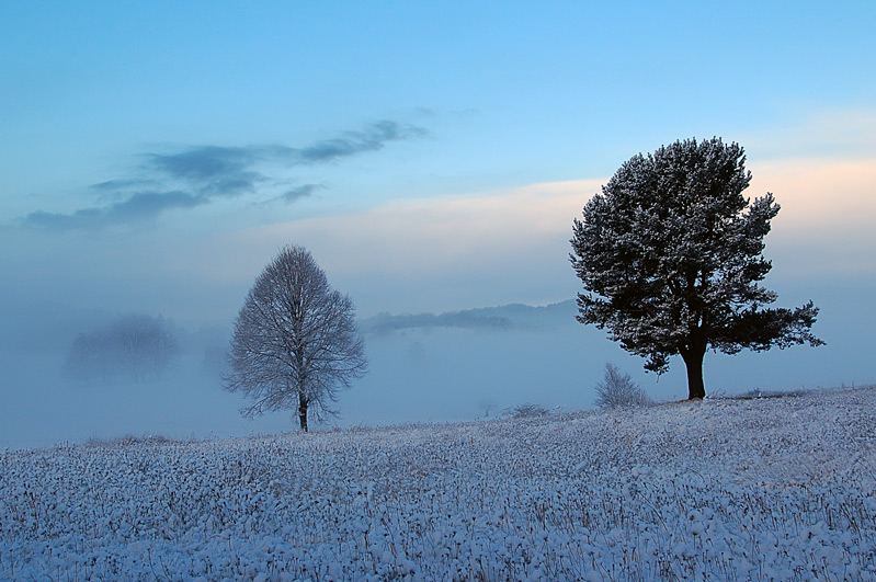 "photo ""First snow2"" tags: landscape, mountains, winter"