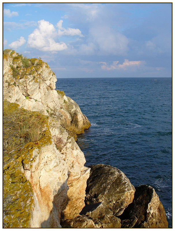 "photo ""Rocks and sea - 2"" tags: landscape, summer, water"