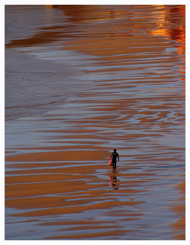 "photo ""Lonely Surfer"" tags: landscape, water"