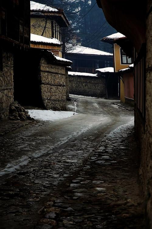 """фото """"Koprivshtica-Bolgaria"""" метки: пейзаж, город, зима"""