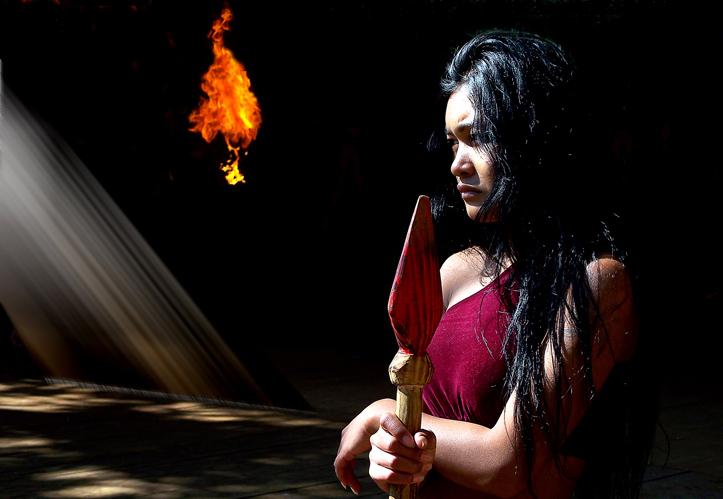 "фото ""Tribal women warriors"" метки: портрет, женщина"