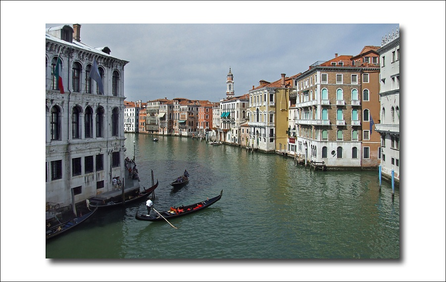 "photo ""Grand canal"" tags: architecture, travel, landscape, Europe"