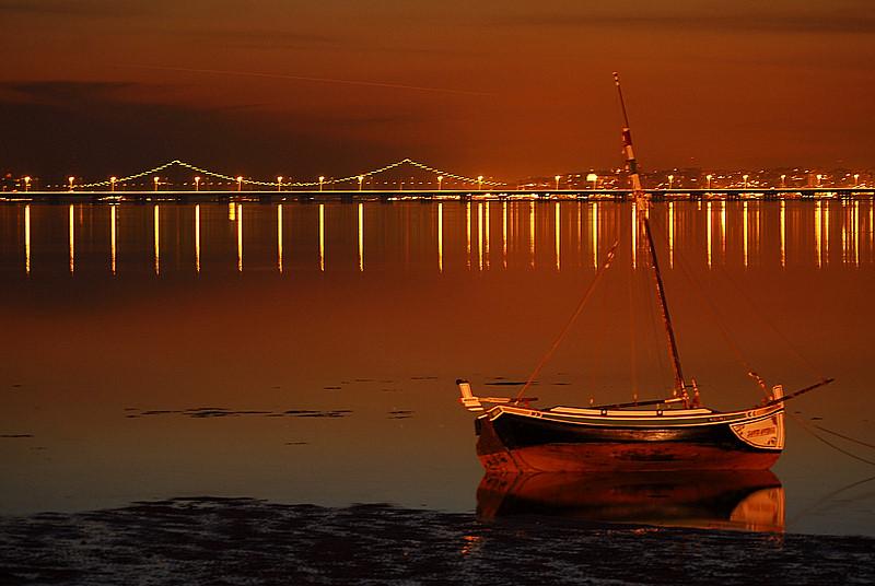 """фото """"ALCOCHETE"""" метки: пейзаж, ночь"""