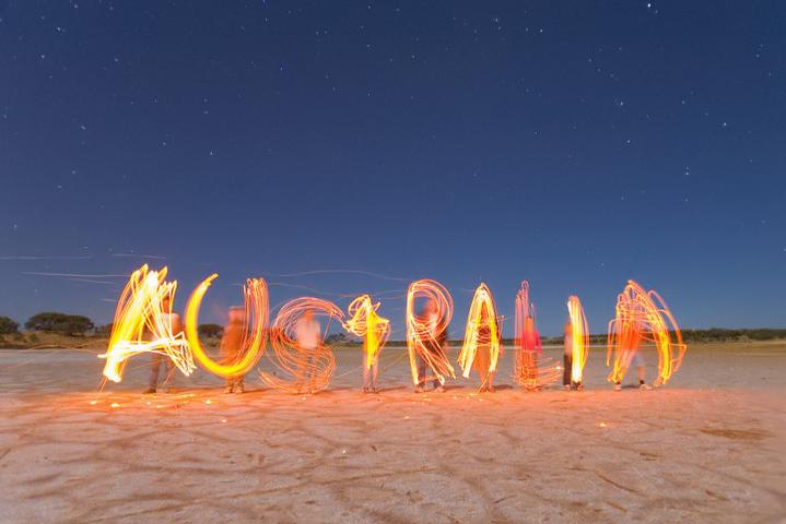"photo ""Australia"" tags: travel, landscape, Australia, night"