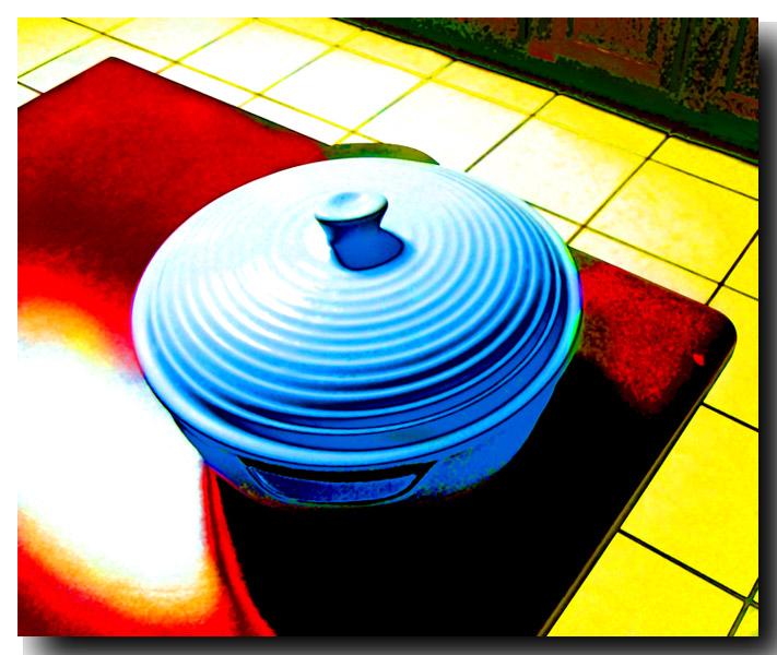 "photo ""Crazy pot."" tags: abstract, humor,"