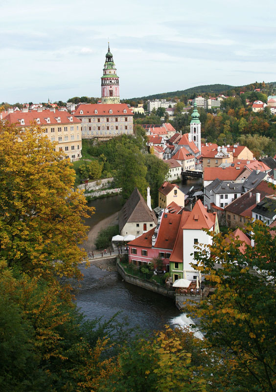 "photo ""30424 Czeske Krumlov"" tags: travel, landscape, Europe"
