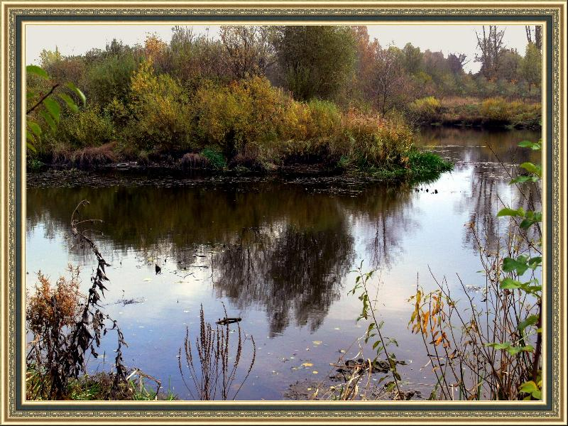 "photo ""Somewhere behind city..."" tags: landscape, autumn"