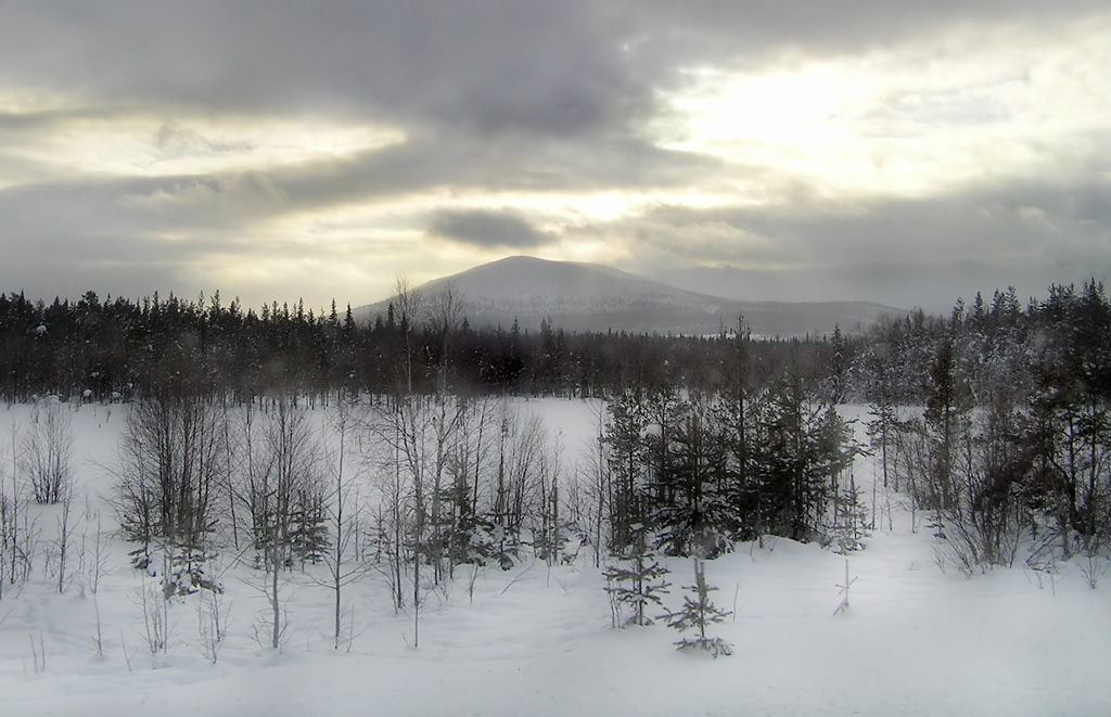 "photo ""Salla-Tunturi"" tags: landscape, mountains, winter"