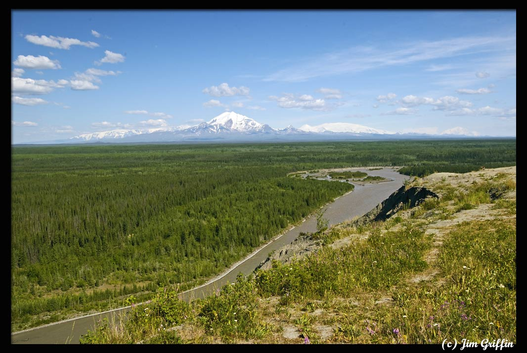"photo ""Wrangell-St. Elias National Park"" tags: landscape, mountains, summer"