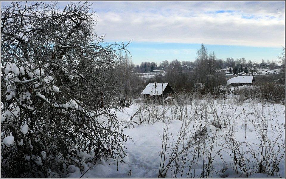 """фото """"Зимний сон"""" метки: пейзаж, зима"""