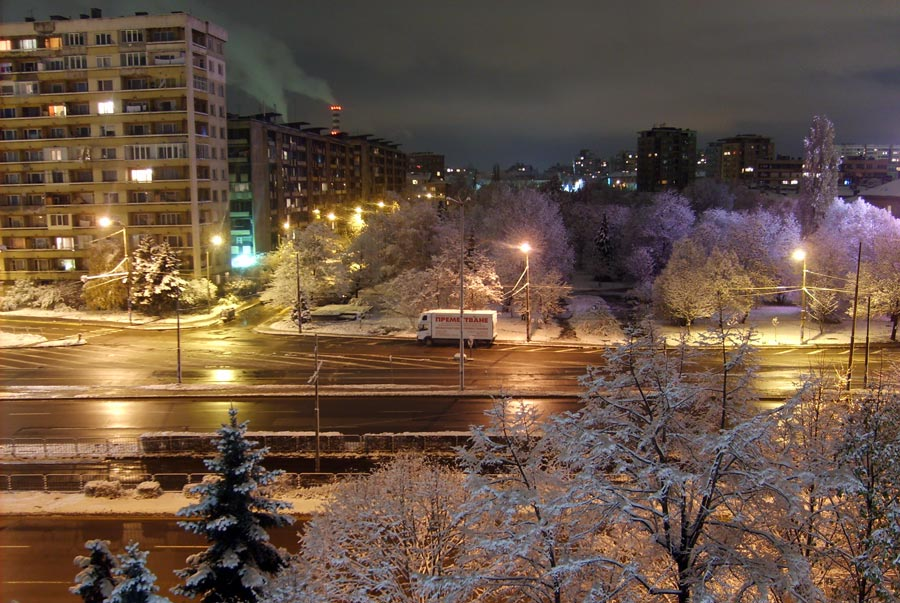 "photo ""When the snow covers the city"" tags: landscape, winter"