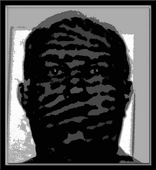 """photo """"Self Portrait"""" tags: portrait, black&white, man"""