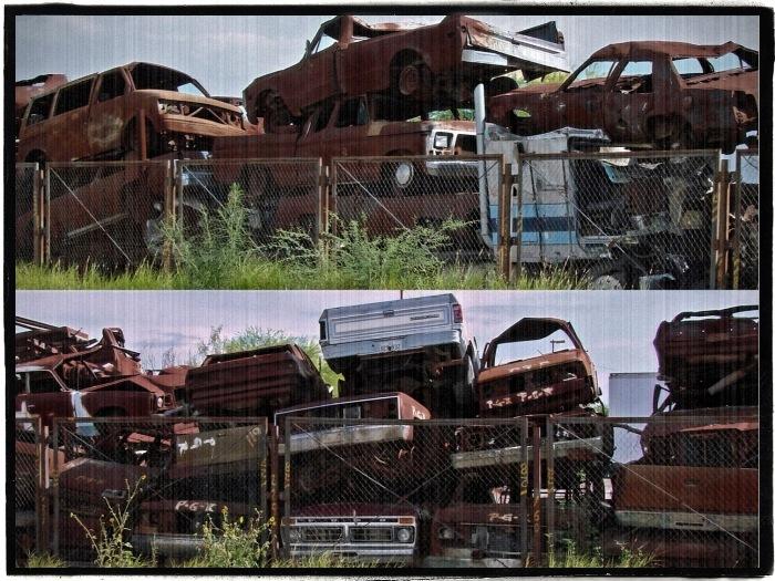 "photo ""Junk"" tags: city, fragment,"