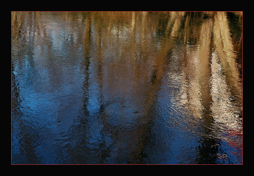 "photo ""Impressionism..."" tags: landscape, abstract, water"