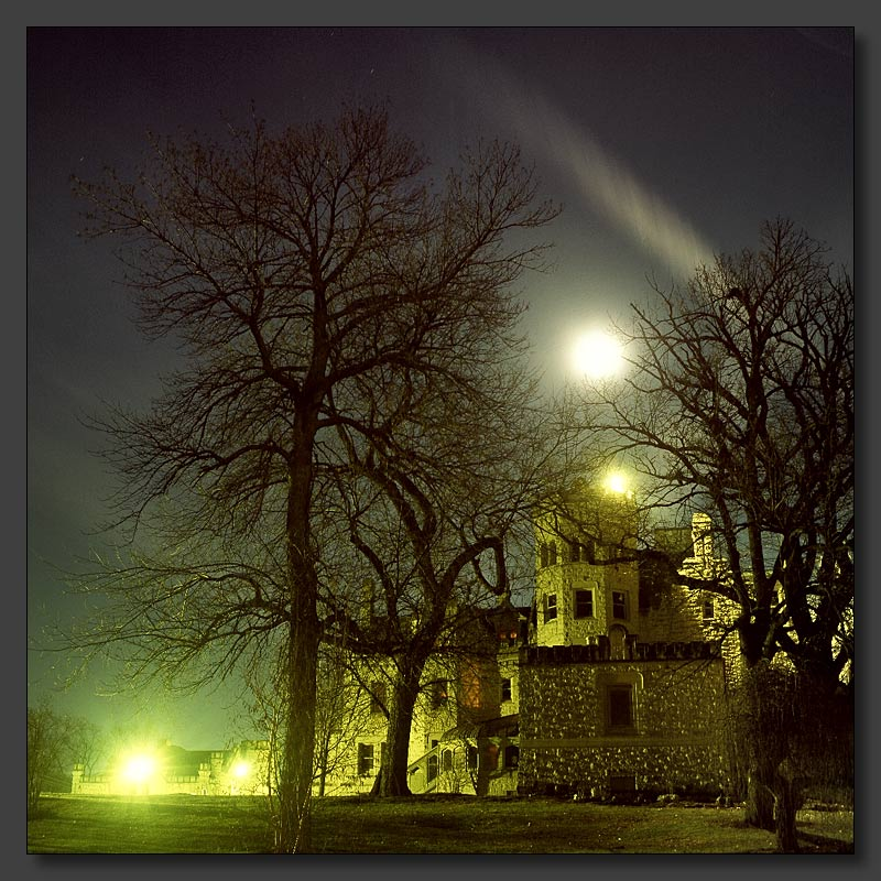 "photo ""Dream"" tags: architecture, landscape, night"