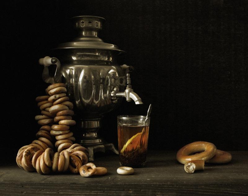 """photo """"Baranochno-chayny"""" tags: still life,"""