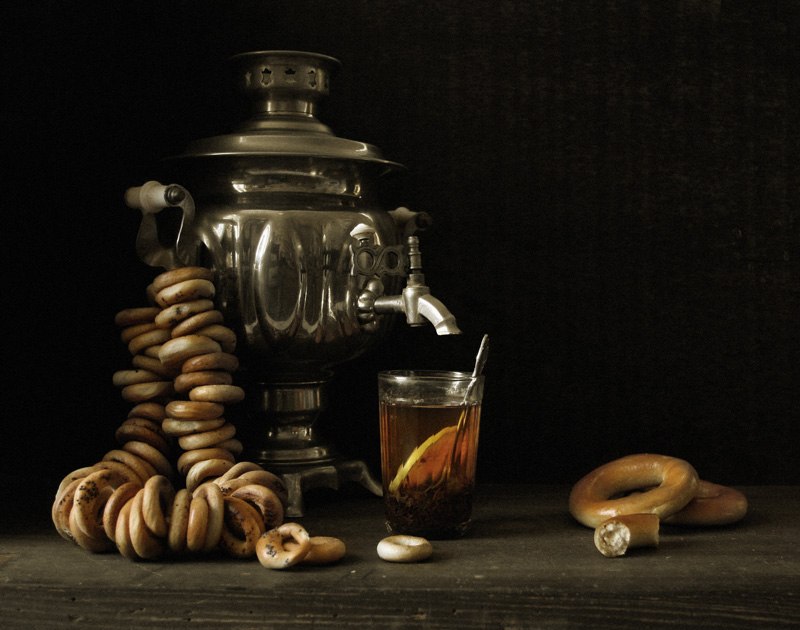 "фото ""Бараночно-чайный"" метки: натюрморт,"