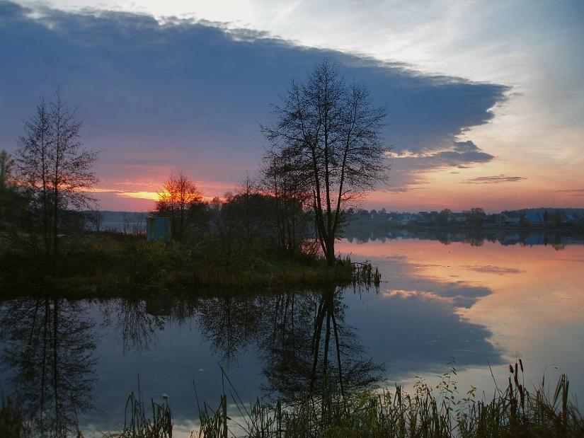 "фото ""Без названия (2)"" метки: пейзаж, закат, осень"