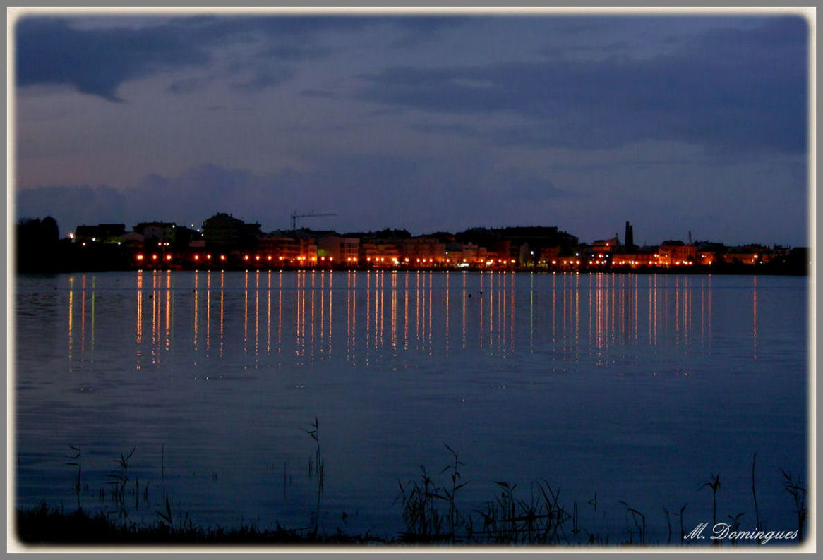 "photo ""Night reflections"" tags: landscape, night"