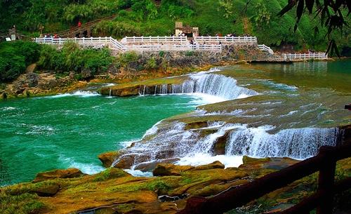 "photo ""huang guo shu China"" tags: travel, Asia"