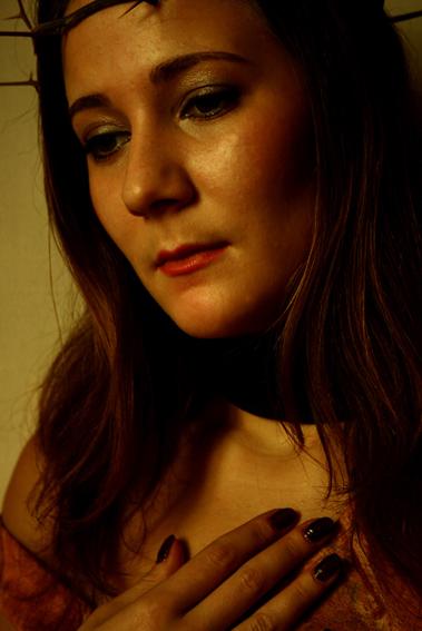 """photo """"girl in a broken scene of her heart"""" tags: portrait, woman"""