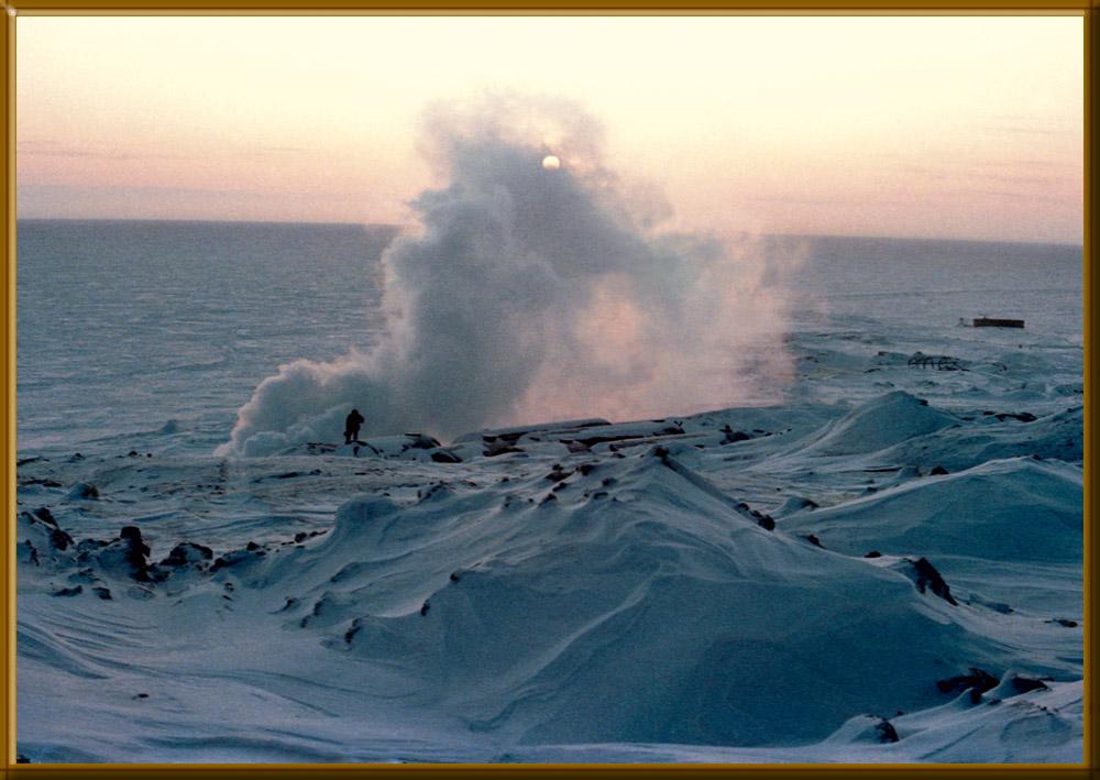 """фото """"Ямал, -50 гр."""" метки: пейзаж, зима"""