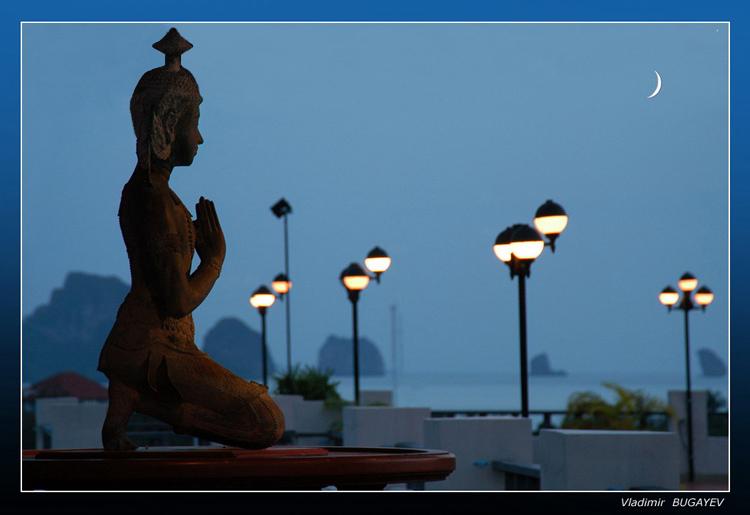 """фото """"ВОСТОЧНЫЙ МОТИВ ..."""" метки: пейзаж, путешествия, ночь"""