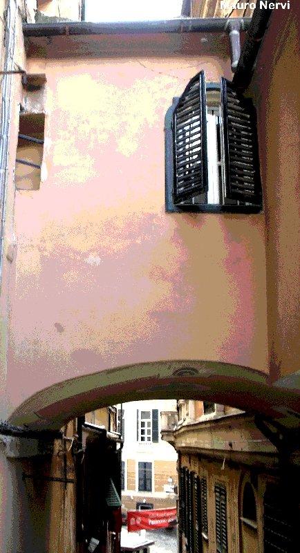 """photo """"old Genoa, Italy"""" tags: city,"""