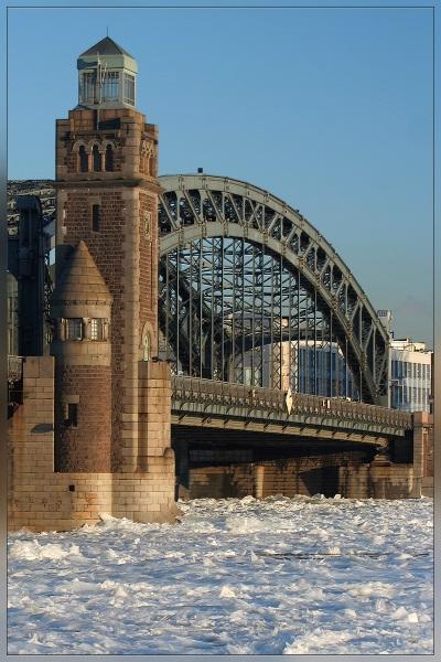 """фото """"Первый лёд"""" метки: архитектура, пейзаж,"""