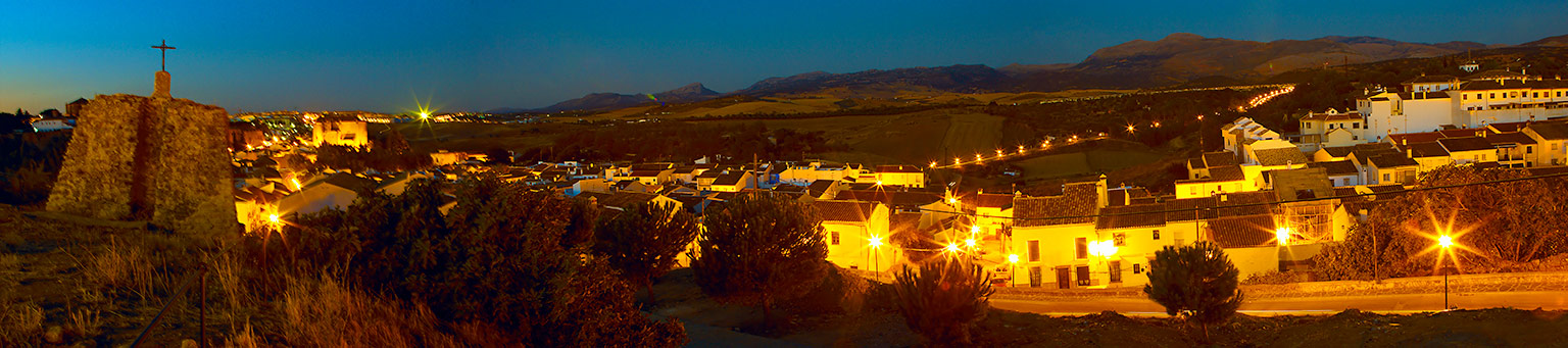 "фото ""Spain night panorama"" метки: пейзаж, ночь"