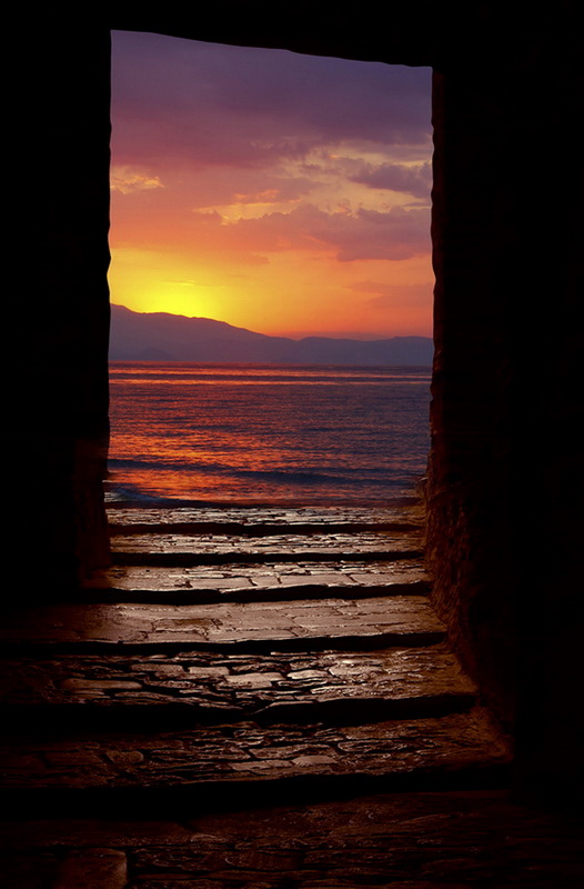 "photo ""Art"" tags: landscape, travel, Europe, sunset"