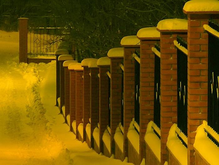 """фото """"В ритме камня и снега"""" метки: пейзаж, ночь"""