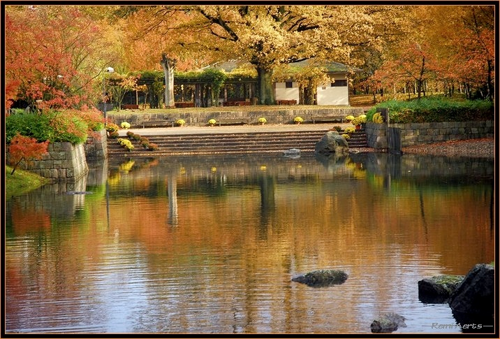 "фото ""Japanese garden"" метки: пейзаж, архитектура, осень"