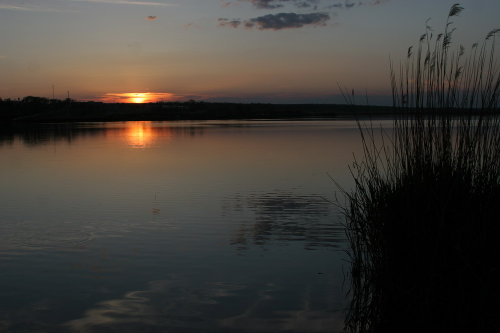 """фото """"Закат"""" метки: пейзаж, вода, ночь"""